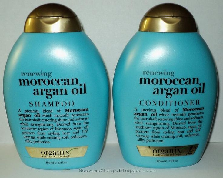 Shampoo | Review: Organix Moroccan Argan Oil Shampoo & Conditioner