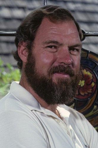 """Merlin Olsen played Jonathan Garvey on  """"Little House on the Prairie"""""""