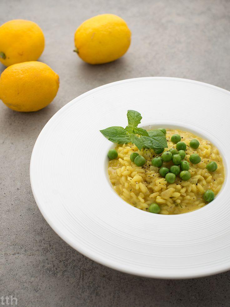 wegańskie risotto cytrynowe