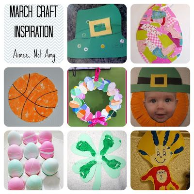 March Kids Craft Inspiration!