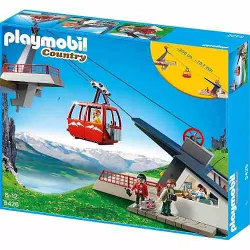 Playmobil 5426 Teleferico De Los Alpes - $ 3.799,99