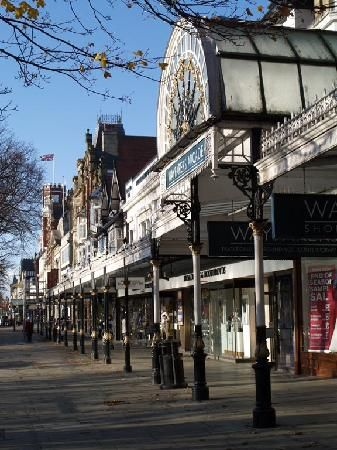 Southport - Lord Street England. A lovely place to visit.