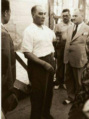 Atatürk'ün Kastamonu'ya Gelişinin 91. yıldönümü. Atatürk, Saffet Arıkan'a…