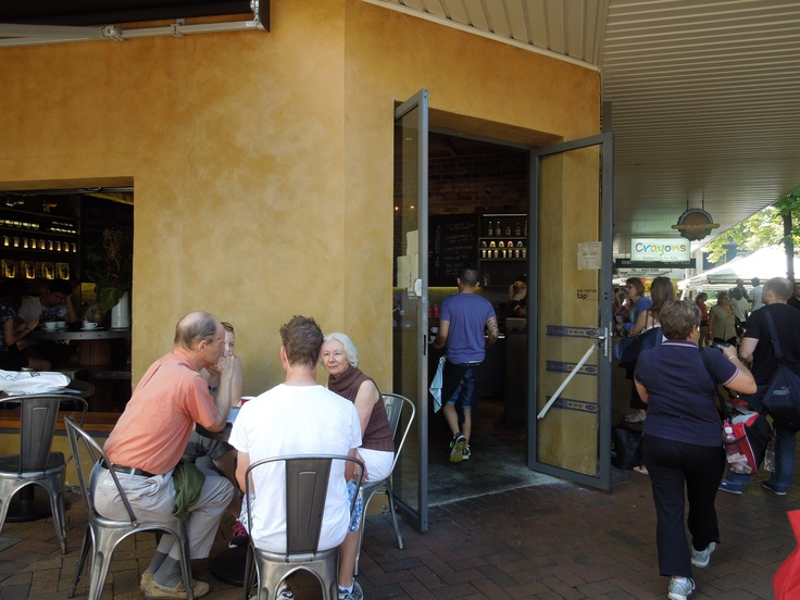 A reason to travel to the 'burbs. Pablo & Rusty's in Lane Cove.