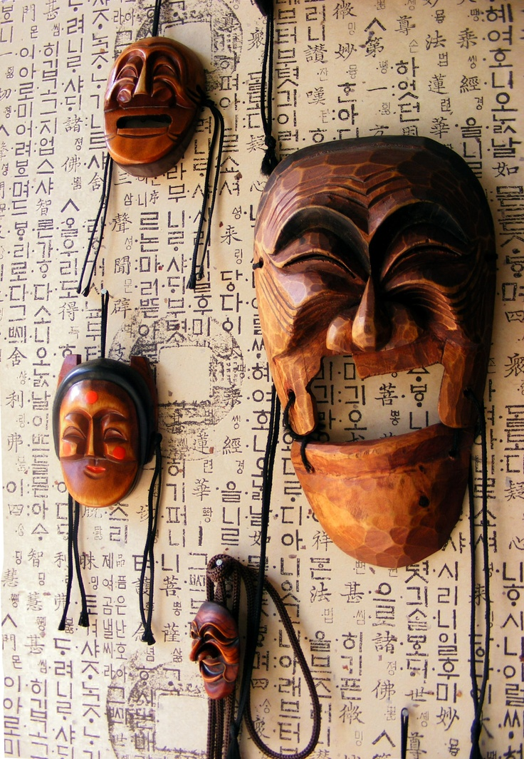 (c) Melissa Stuebing  Asian masks