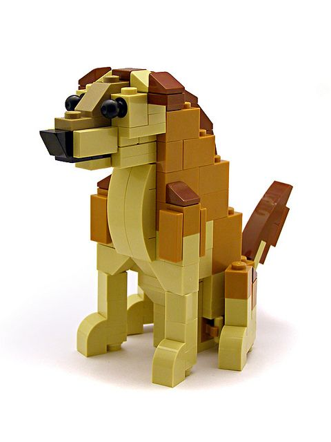 Lego Man's Best Friend
