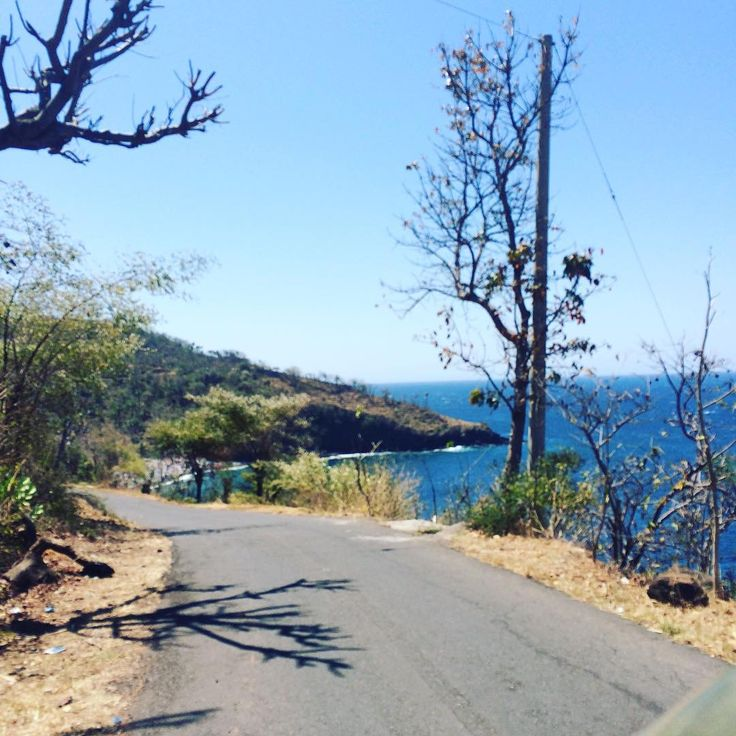 On route via the ocean road to Amed.