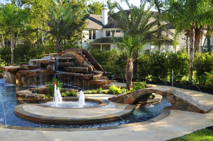 12 best images about custom designed swimming pools for Pool design houston tx