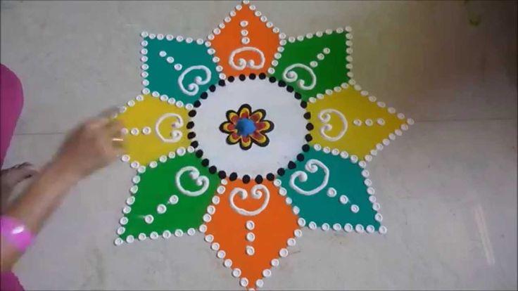 Diwali Special - Sanskar Bharti Rangoli Design
