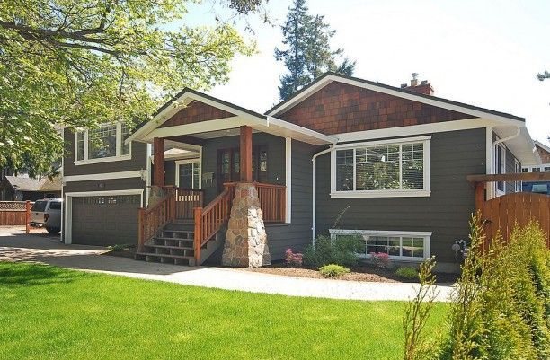 Split Foyer House Colors : Not this style house but love the exterior colors dream