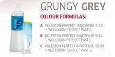 Create the Look: Grungy Grey by Koleston Perfect Innosense   Capital Hair & Beauty Ltd