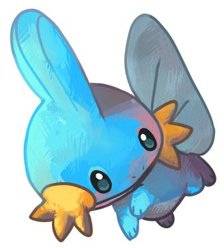 Mudkip by ~cheepers on deviantART