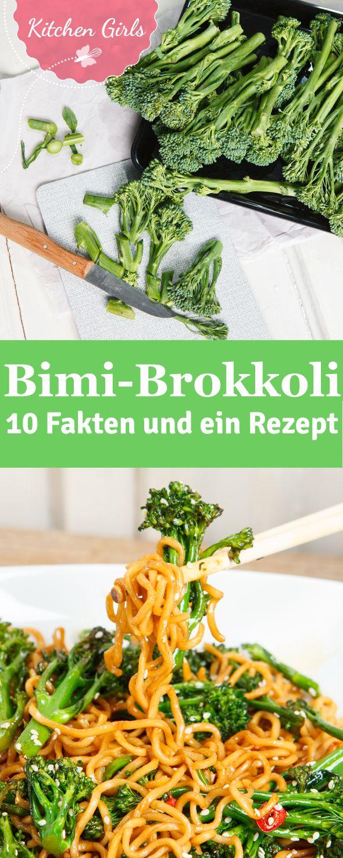 Bimi-Brokkoli: Wir verraten euch warum er so lecker ist und haben ein schnelles Rezept für asiatische Bimi-Nudelpfanne für euch.