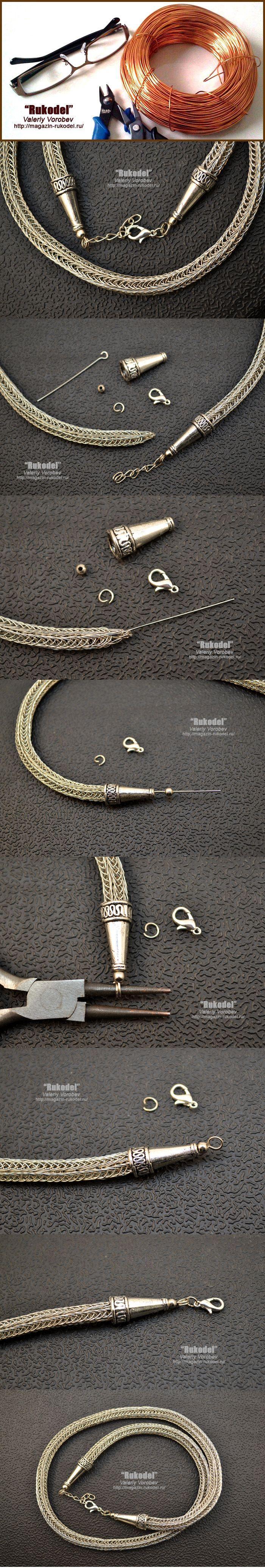 Viking Knit - Tip Crimp End