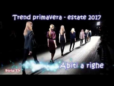 Italian fashion 2017 - Moda italiana 2017 - Abiti a righe
