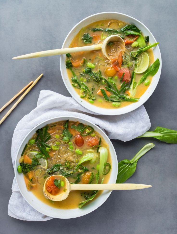 Thai Style Vegan Ramen