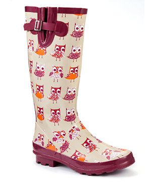 These are the cutiest rainboats. I want them.