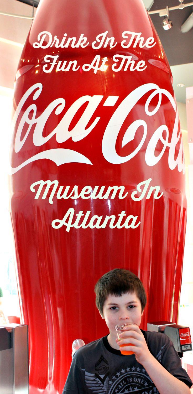 Drink In The Fun At The Atlanta Coca Cola Museum http://makobiscribe.com/drink-in-the-fun-at-the-atlanta-coca-cola-museum/