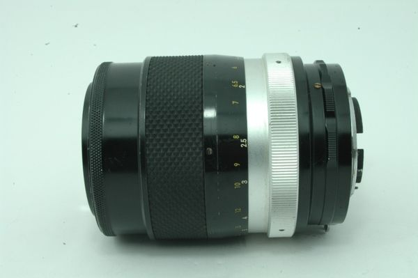 Lensa Manual Nikon Nikkor Q Auto 135mm f/2.8 Nippon Kogaku.,,Antik!!