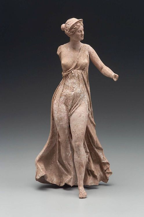 .:. Flying Nike (Victory) Greek East Greece Hellenistic Period, 2nd century B.C.  Myrina, Aeolis, Asia Minor