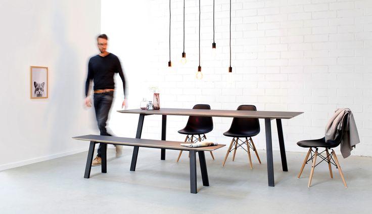 die besten 25 esstisch mit bank ideen auf pinterest k chentisch mit bank bauernhofstil tisch. Black Bedroom Furniture Sets. Home Design Ideas