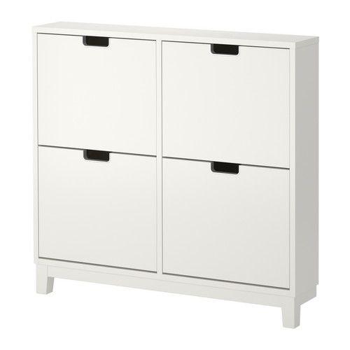 STÄLL Skoskåp 4 fack IKEA Hjälper dig att hålla ordning på dina skor och sparar samtidigt plats på golvet.