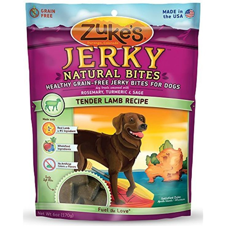 Zuke's Jerky Naturals Dog Treats, Tender Lamb Recipe, 6-Ounce by Zuke's --- You can check out this great product. (This is an affiliate link and I receive a commission for the sales)