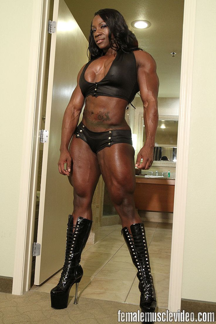 Muscular femdom strapon submissive cuckhold thumbs