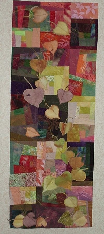 September Song  wall hanging quilt...does anyone know who made this quilt?