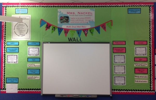 I wanted to share some recent photos I took of my Math Focus Wall.  I apologize for not posting these photos sooner as I feel I have...