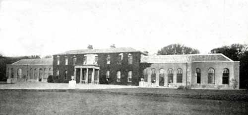 Trabolgan House, Co. Cork - demolished - the seat of the Roche family, Lords Fermoy, the 4th Lord Fermoy was the grandfather of HRH Diana The Princess of Wales