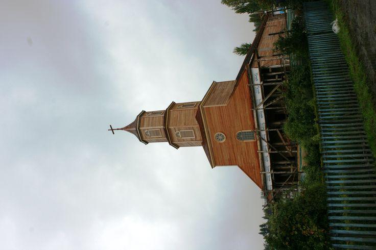 Iglesia Darcon.Isla de Chiloé