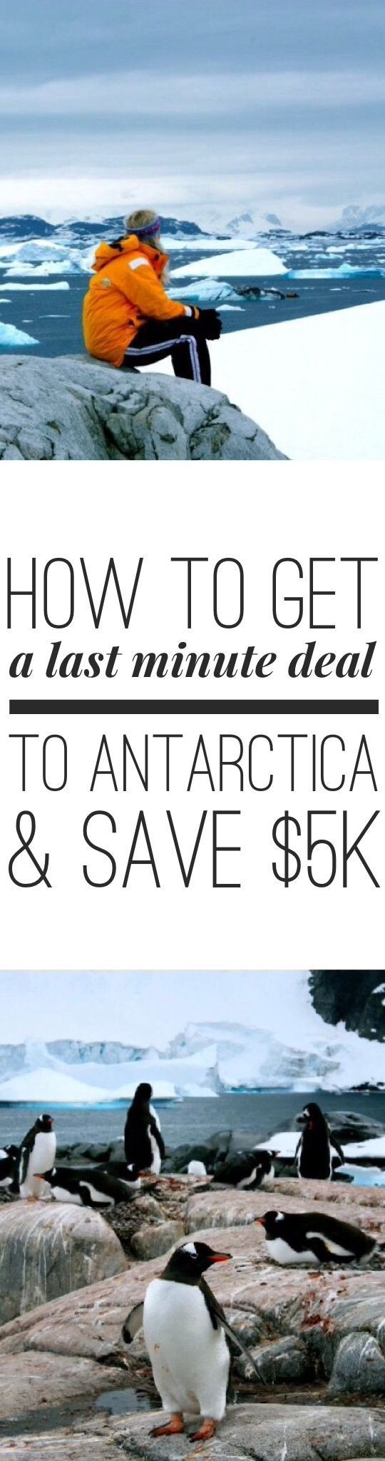 Want to visit Antarctica and save over $5000? Read my guide on how to score a last minute deal!!