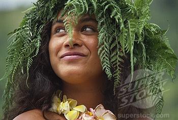 Polynesian hair