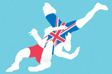 True love among the leotards lifts Britain's 2012 wrestling hopes   Marina Hyde