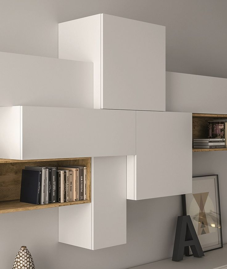SECTIONAL LACQUERED STORAGE WALL SLIM 88 SLIM COLLECTION BY DALL'AGNESE | DESIGN IMAGO DESIGN, MASSIMO ROSA