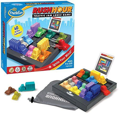 Rush Hour – Puzzle – Circulation et Réseau Routier – Version Anglaise: Age range: 8 and up / Number of players: 1 and up Manufacturer:…