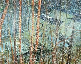 Architect's Home in the Ravine, realism - Peter Doig