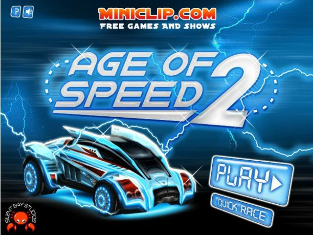 Free Games Online – Age of Speed 2. Master futuristic race tracks in space!