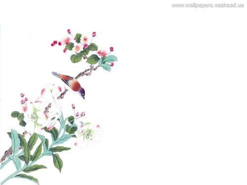 Chinees schilderij - achtergronden, #3504