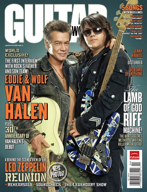 "Eddie Van Halen Says Band ""Bit Off More Than We Could Chew"""