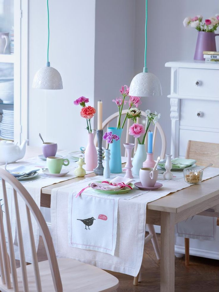 love everything but especially the vases on the table