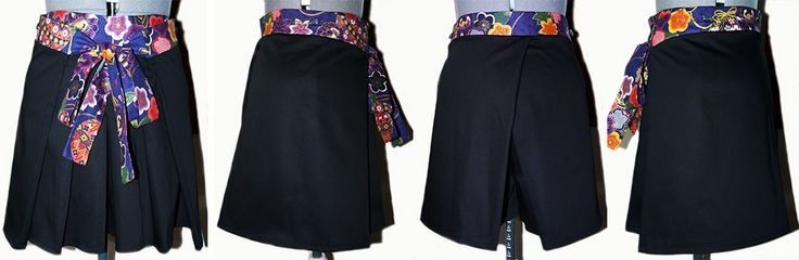 Hakama Short, hand made by Sanagi Atelier