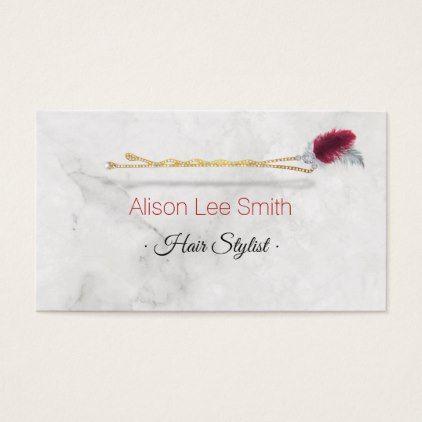 Hair Stylist Business Card - hair stylist gifts business cyo diy custom create