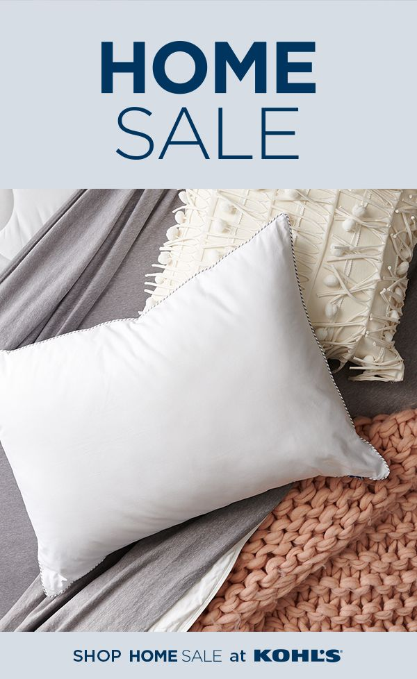 Shop Sealy Pillows At Kohl S Having The Right Pillows Is An