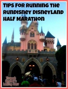 Tips for Running the runDisney Disneyland Half Marathon. See my top tips and photos from this race course in California. A great race for beginners and experienced runners alike, this one is a bucket list race!