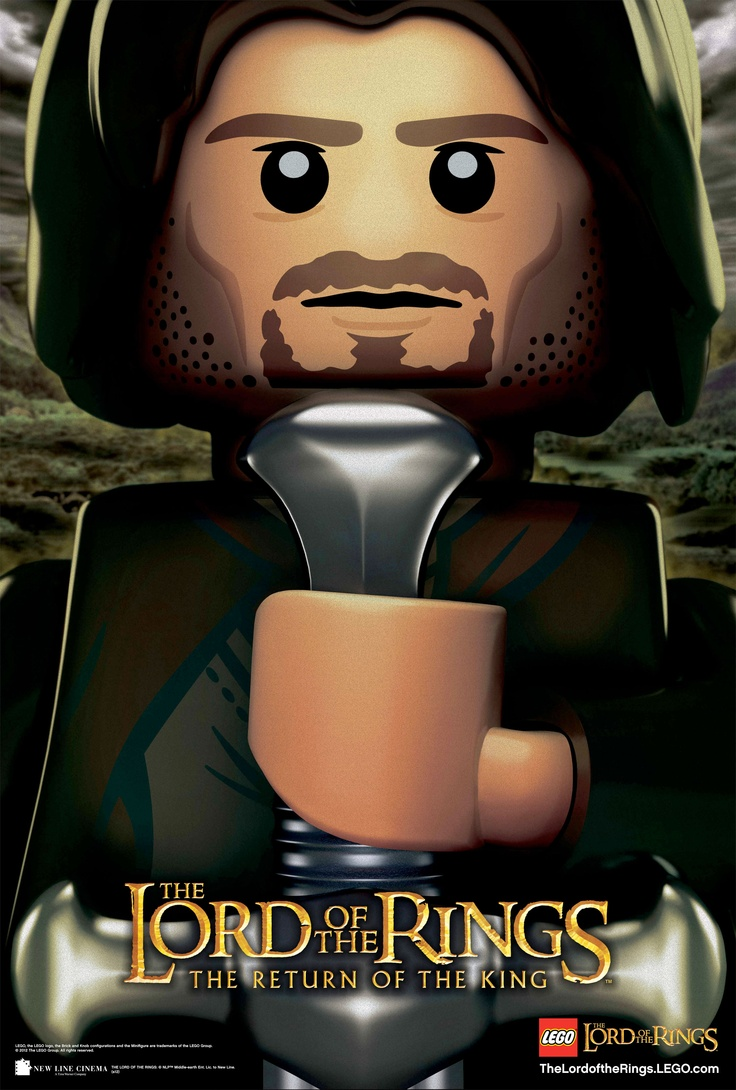 Lego Aragorn - funny