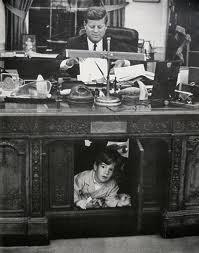 Famous photo of John playing in his father's desk.: John Kennedy, John John, Nu'Est Jr, Desk, Photo, Jfk Jr