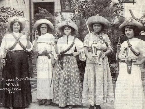 """Women of the Mexican Revolution""....@...http://www.lapl.org/events/nation_emerges/"