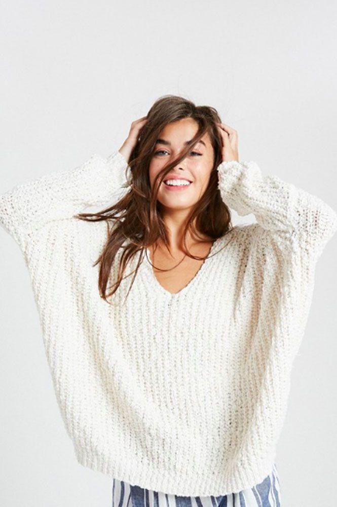 61179ce4361e Winter Wonderland Popcorn Sweater. Super cozy and soft wear it as a ...